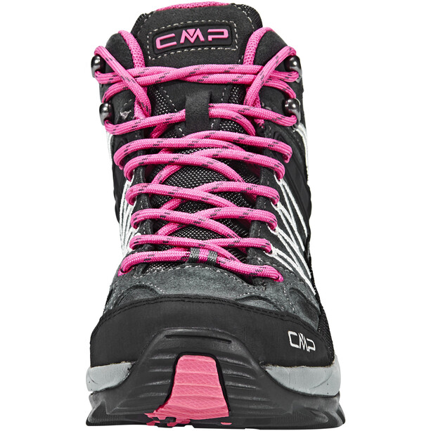 CMP Campagnolo Rigel WP Mid-Cut Trekkingschuhe Damen grey-fuxia-ice