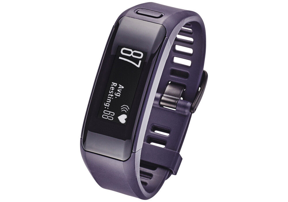 garmin vivosmart hr fitnessarmband dunkellila g nstig. Black Bedroom Furniture Sets. Home Design Ideas