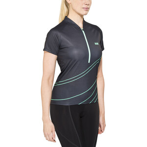 IXS Trail 6.2 Trikot Damen black/turquoise black/turquoise
