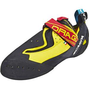 Scarpa Drago Kletterschuhe gelb/schwarz gelb/schwarz