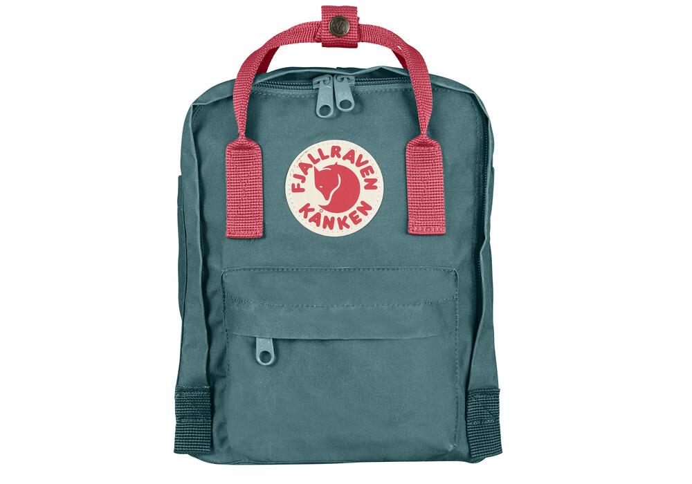 fj llr ven kanken mini backpack frost green peach pink. Black Bedroom Furniture Sets. Home Design Ideas