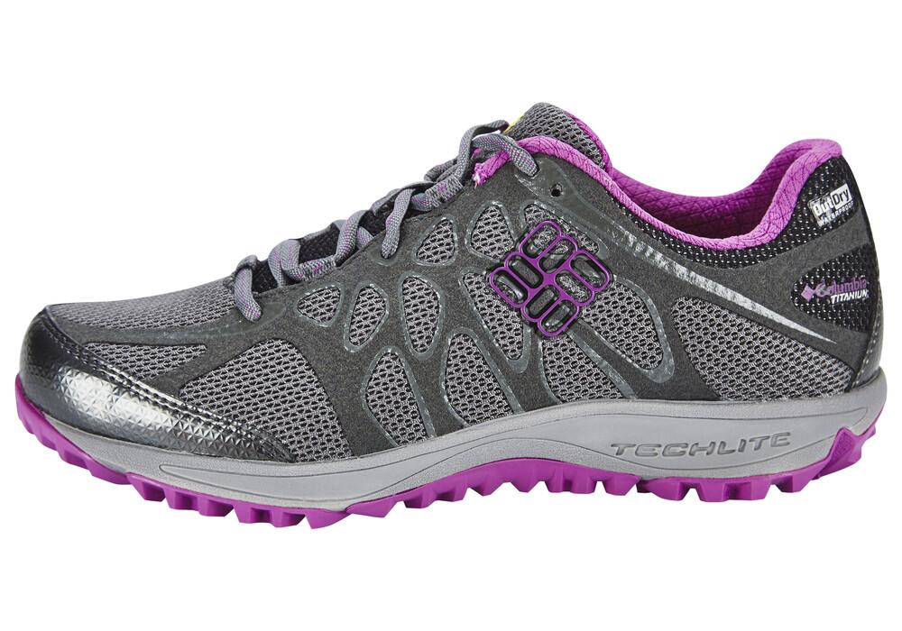 columbia conspiracy titanium outdry chaussures femme gris sur. Black Bedroom Furniture Sets. Home Design Ideas