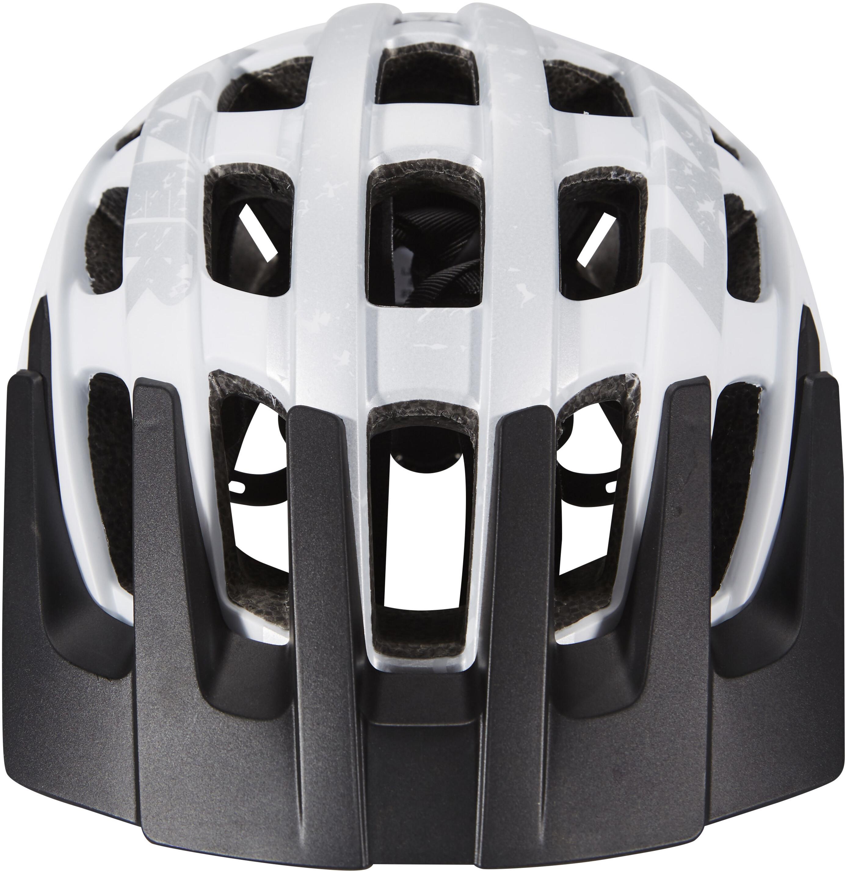 lazer roller helmet white silver mat g nstig kaufen. Black Bedroom Furniture Sets. Home Design Ideas