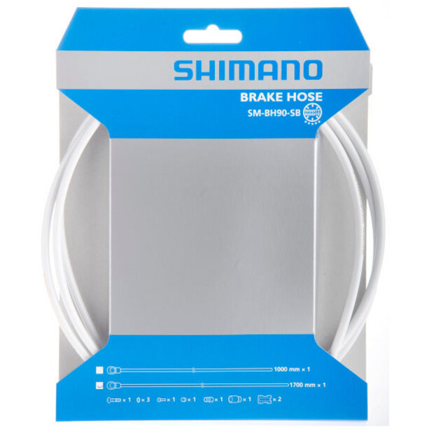 Shimano SM-BH90-SBS Bremseslange, white