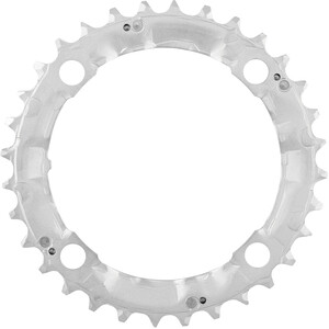 Shimano Deore FC-M510 Chainring 104mm, argent argent