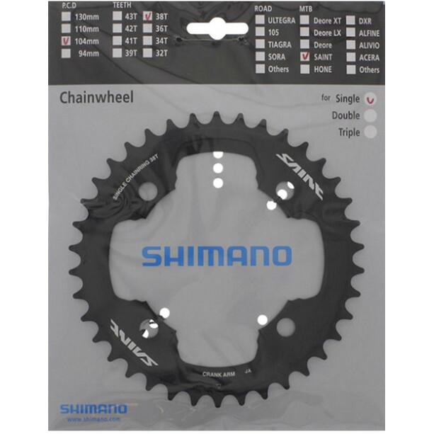 Shimano Saint FC-M810 Chainring 104mm svart