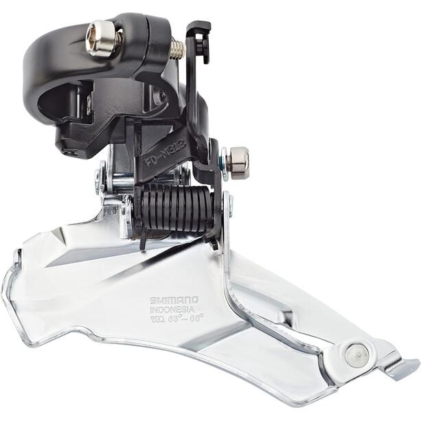 Shimano Altus FD-M313 Frontgir 7/8-gir Dual-Pull Svart/sølv
