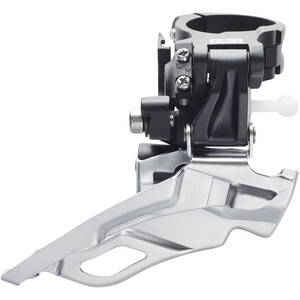 Shimano Deore FD-M611 Umwerfer 3x10-fach Schelle Dual-Pull schwarz schwarz