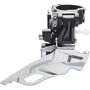 Shimano Deore FD-M611 Umwerfer 3x10-fach Schelle Dual-Pull schwarz