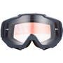 100% Accuri Anti Fog Clear Goggles gunmetal