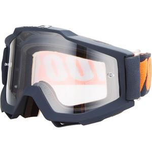 100% Accuri Anti Fog Clear Goggles gunmetal gunmetal