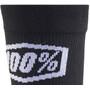 100% Terrain Chaussettes, black