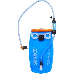 SOURCE Widepac Sawyer Fillter 2l Flasche transparent-blue transparent-blue