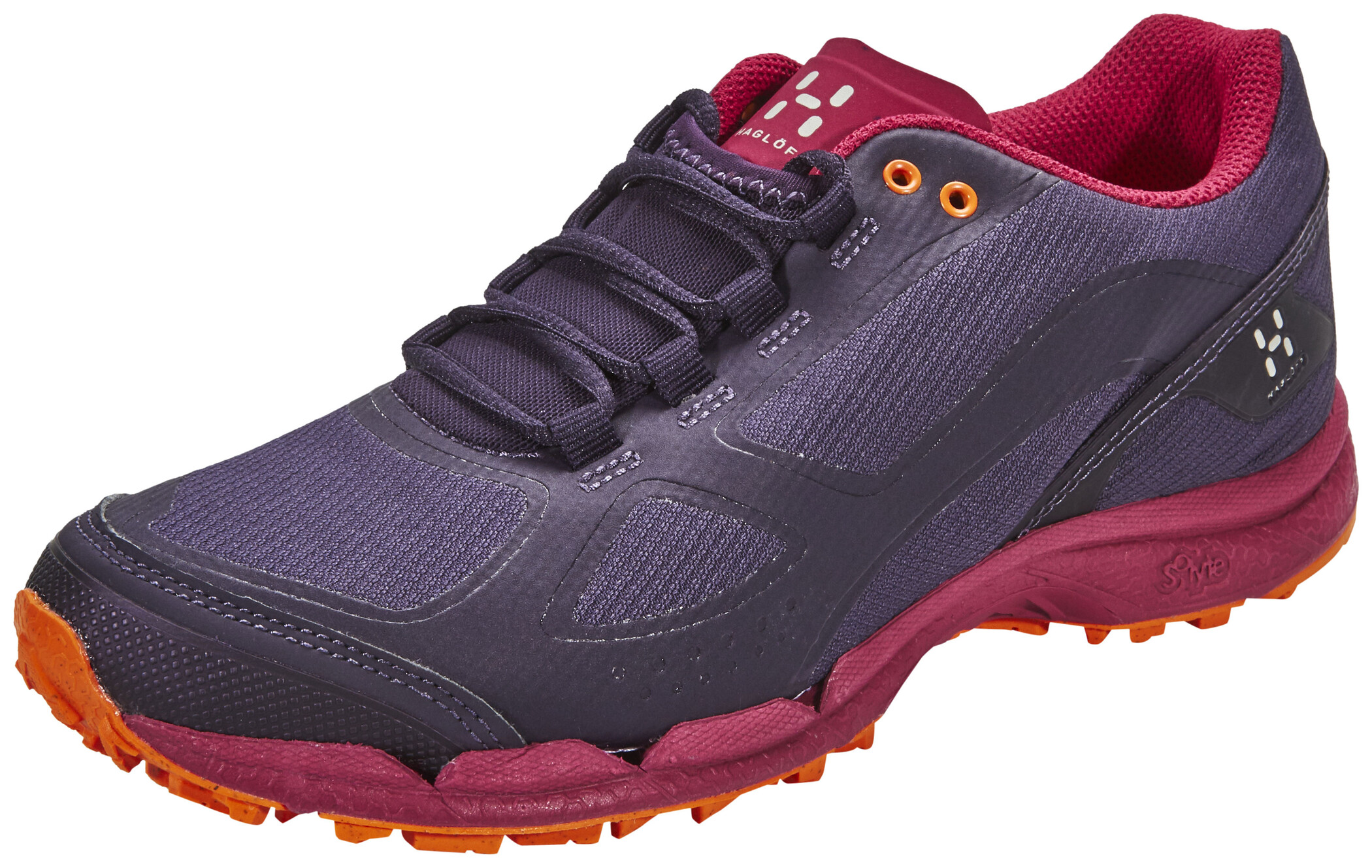 Haglöfs Gram Comp II Shoes Dam acai berryvolcanic