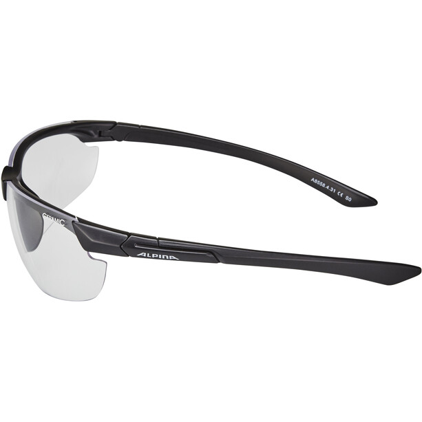 Alpina Draff Brille black matt/clear