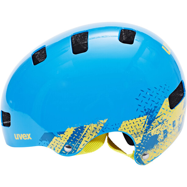 UVEX Kid 3 Helm Kinder blackout blue