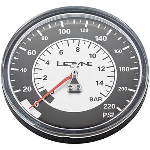 Lezyne Manometer 3-5 220PSI för alla golvpumpar black/silver black/silver