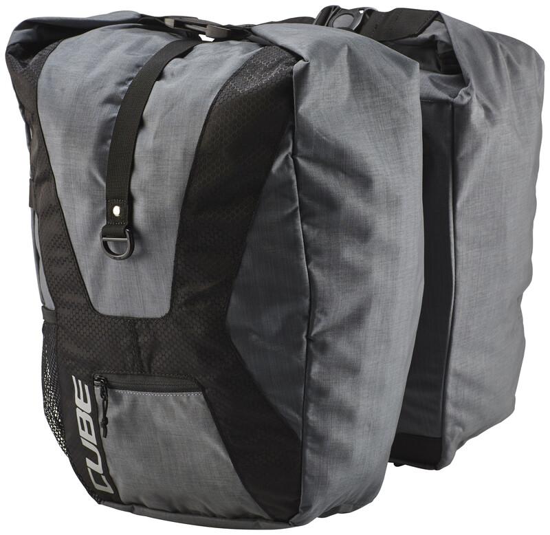 Cube Travel Fahrradtasche anthrazit Gepäckträgertaschen  12037
