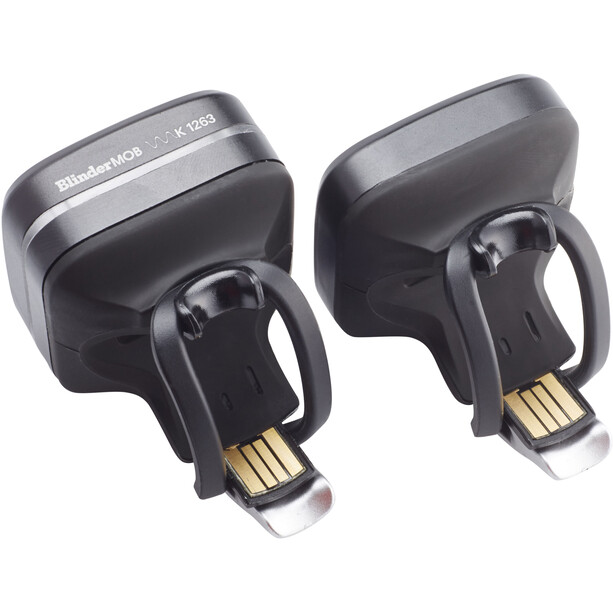 Knog Blinder MOB Lighting Set StVZO Twinpack black