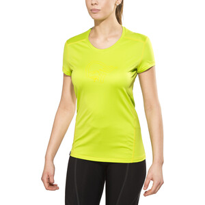 Norrøna /29 tech T-Shirt Damen birch green/mellow yellow birch green/mellow yellow
