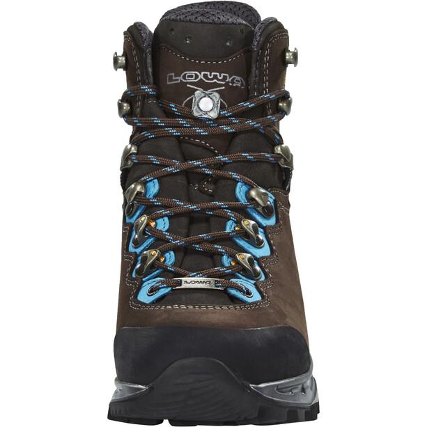 Lowa Mauria GTX Trekking Shoes Women, slate/turquoise