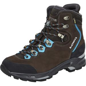 Lowa Mauria GTX Trekking Shoes Women, slate/turquoise slate/turquoise