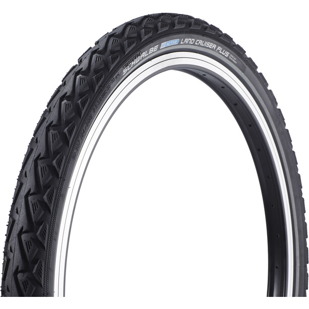 "SCHWALBE Land Cruiser Plus Drahtreifen Active 24x2.00"" K-Guard black-reflex"