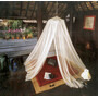 CAMPZ Canopy Mosquito Net Extra Fine white