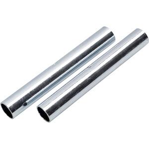 CAMPZ Hülse für Glasfaserstab 9mm 2er Set silber silber