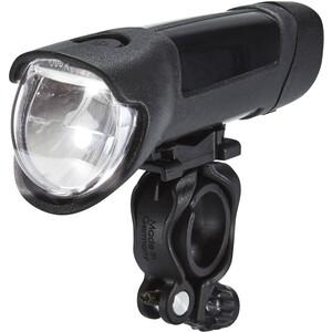 Busch + Müller Ixon Fyre Akku-Frontscheinwerfer mit USB Netzteil schwarz-silber schwarz-silber