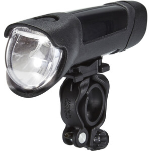 Busch + Müller Ixon Fyre Battery Front Headlight med USB strømforsyning black/silver black/silver
