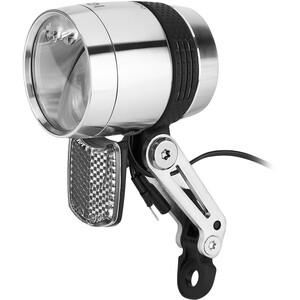 Busch + Müller Lumotec IQ-X Dynamo-Frontscheinwerfer LED silber silber