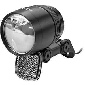 Busch + Müller Lumotec IQ-X Dynamo-Frontscheinwerfer LED schwarz schwarz