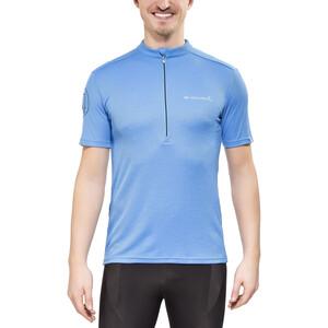 Endura Singletrack Merino Jersey Shortsleeve Men, ocean blue ocean blue