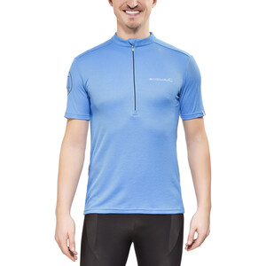 Endura Singletrack Merino Jersey shorts ærme Herrer, ocean blue ocean blue
