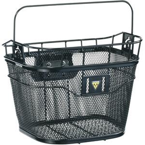 Topeak Basket Bike Basket フロント ブラック