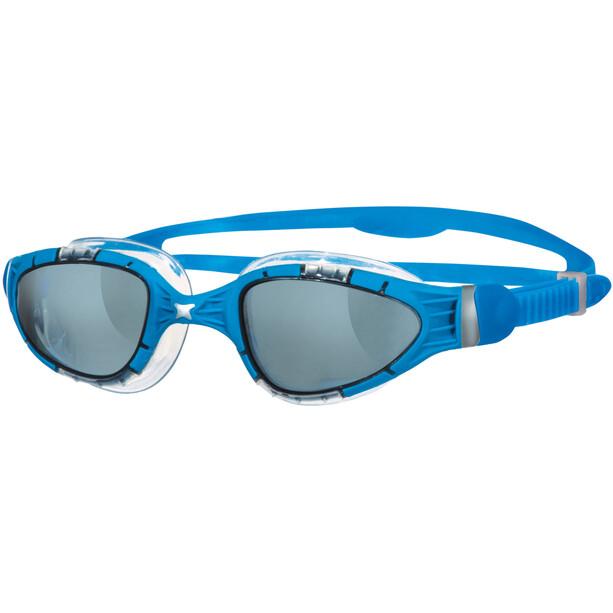 Zoggs Aqua Flex Brille blue/smoke
