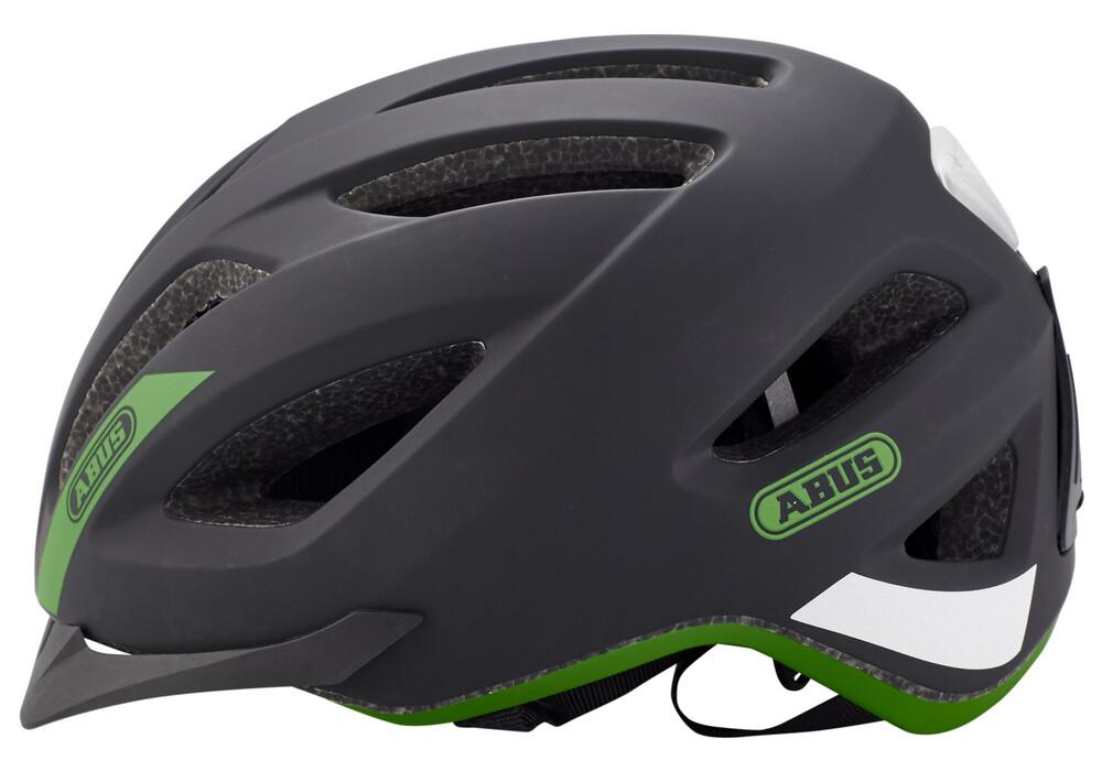 abus pedelec helm zwart groen i voordelig bestellen bij. Black Bedroom Furniture Sets. Home Design Ideas