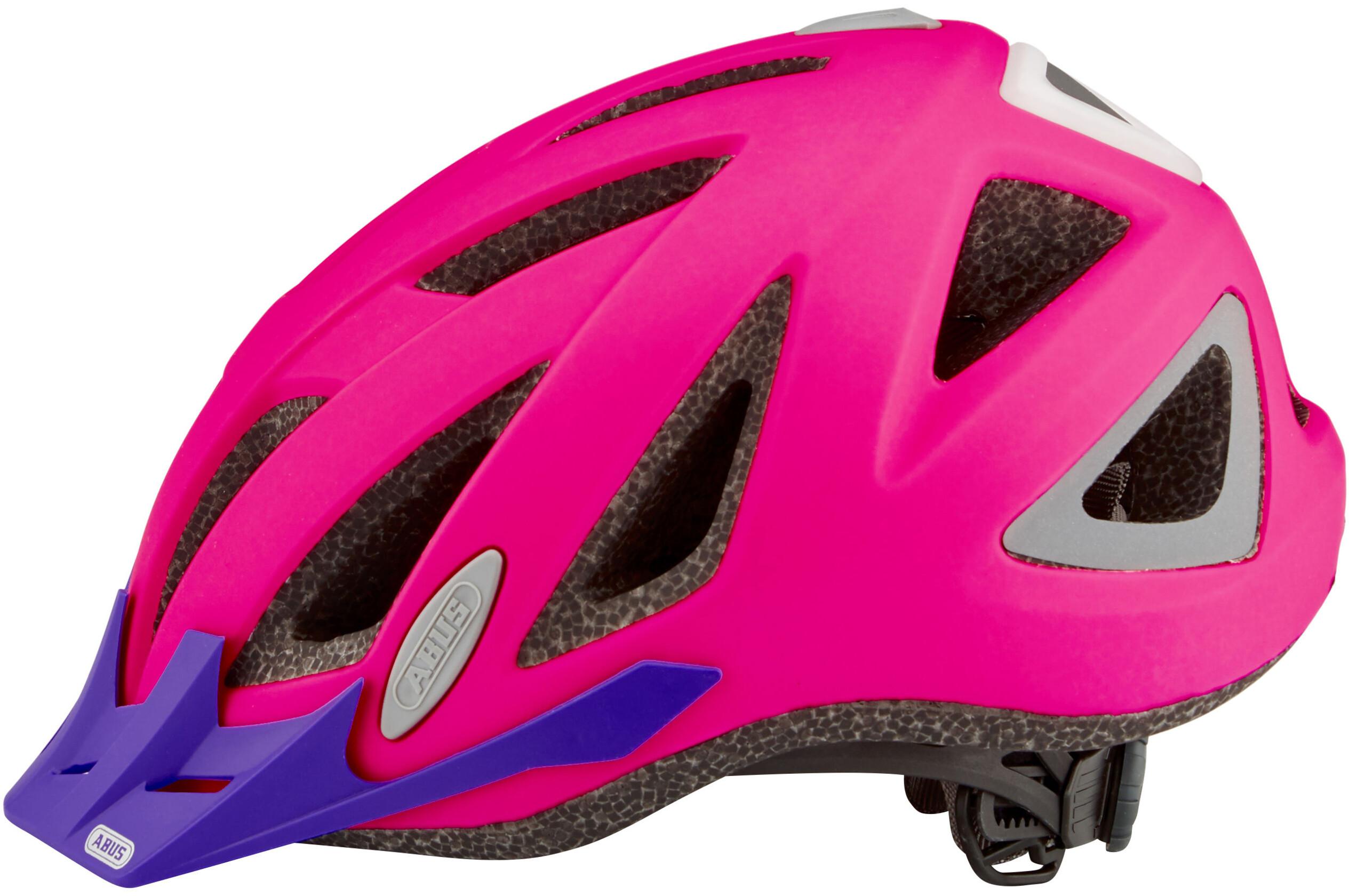 abus urban i 2 0 helmet neon pink online kaufen bei bikester. Black Bedroom Furniture Sets. Home Design Ideas