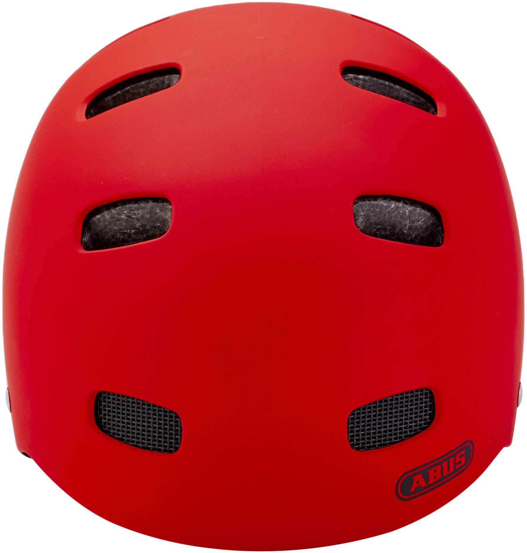 abus scraper kid 2 0 bike helmet children red at addnature. Black Bedroom Furniture Sets. Home Design Ideas