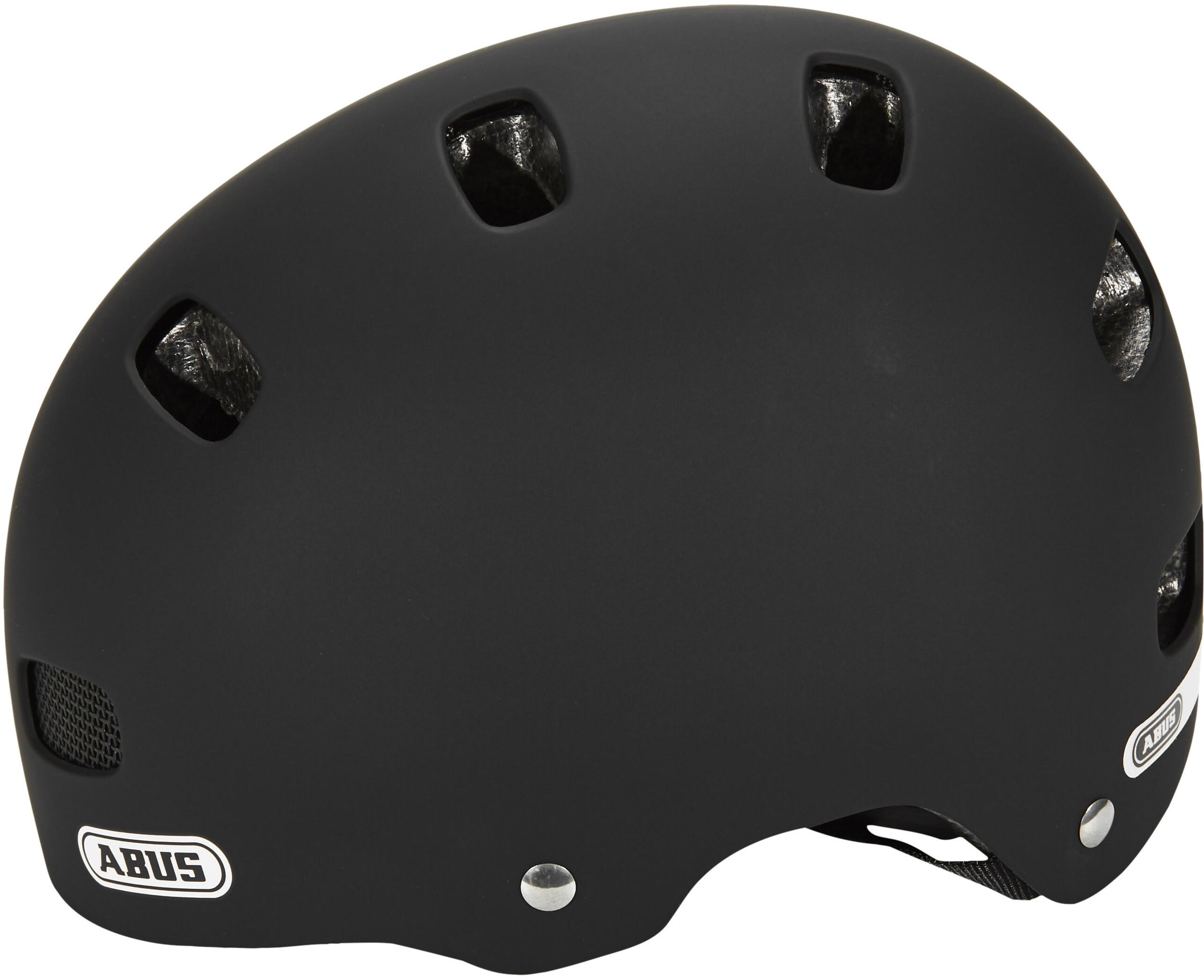 abus scraper kid 2 0 helmet velvet black online bestellen. Black Bedroom Furniture Sets. Home Design Ideas