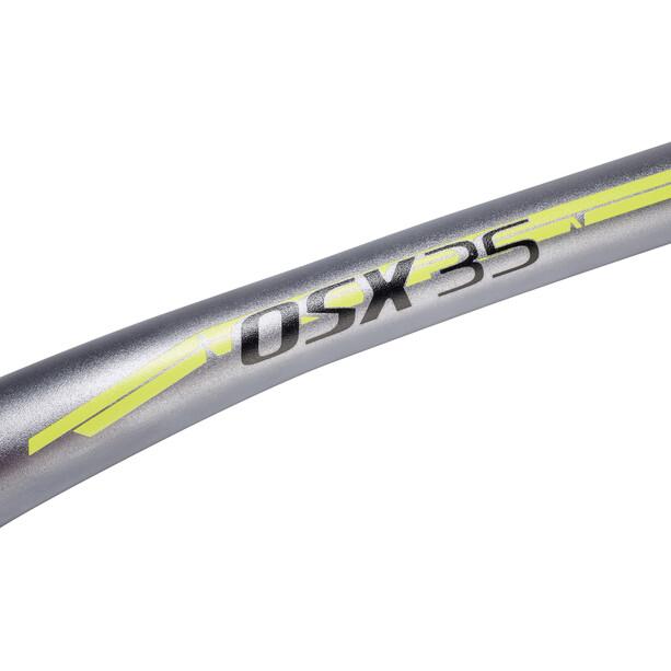 Chromag Fubars OSX 35 Handlebar 800mm, gris/jaune