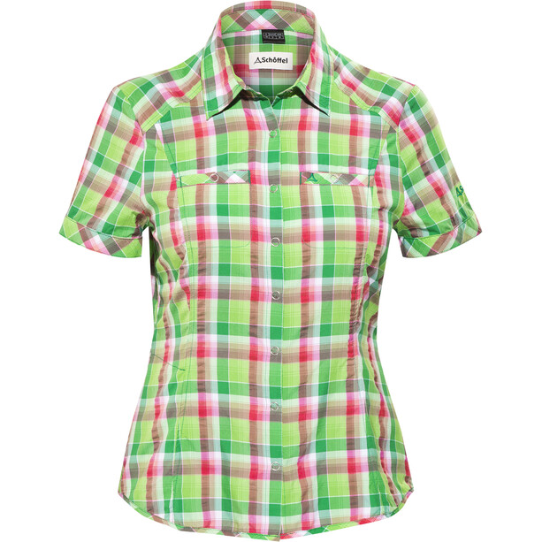 Schöffel Los Angeles UV Bluse Damen jelly bean