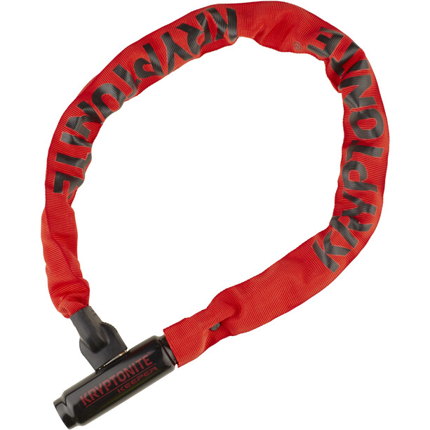 Kryptonite Keeper 785 Integrated Chain Chain Lock röd