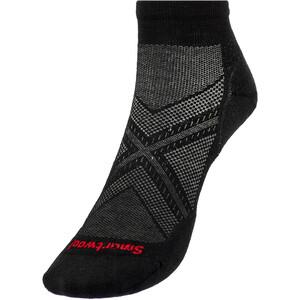 Smartwool Run Targeted Cushion Low-Cut Socks, harmaa/musta harmaa/musta
