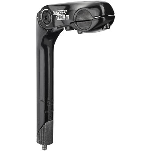 Humpert Kobra Vario Stem Shaft 25,4x180mm Handlebar Ø25,4mm, noir noir