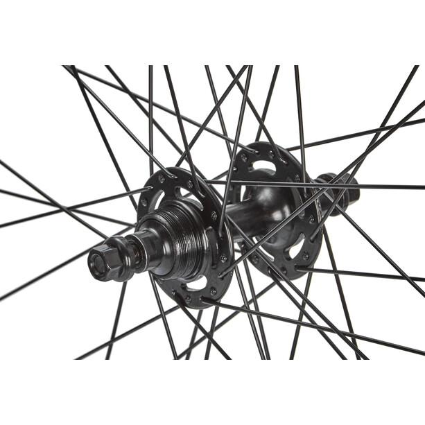 """Point SingleSpeed Laufradsatz 28"""" schwarz"""