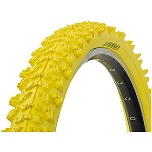 "Kenda K-829 Wired-on Tire 26 x 1,95"" yellow yellow"