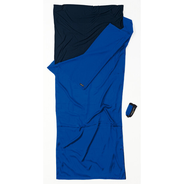 Cocoon TravelSheet Inlet Ripstop Silk/Thermolite ultramarine blue/tuareg