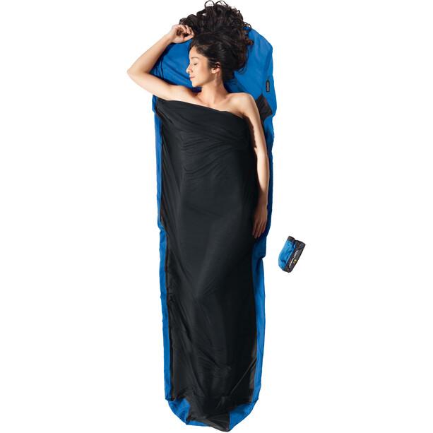 Cocoon MummyLiner Inlet Ripstop Silk/Thermolite ultramarine blue/tuareg